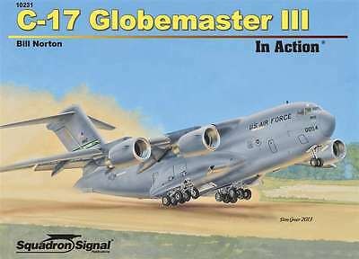 C-17 Globemaster III in Action, USAF transport (Squadron Signal 10231)