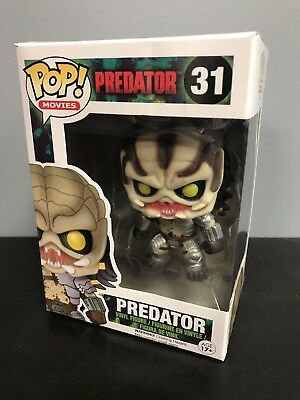 Funko Pop Movies PREDATOR #31 Unmasked Vaulted with Pop Protector