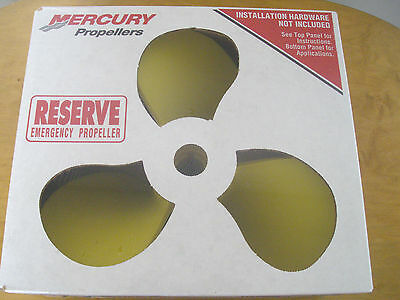 NEW Mercury Quicksilver 48-814700A1 Plastic Emergency Prop Propeller 14 x 19 RH