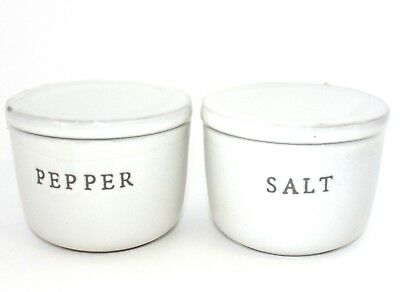 New Hearth and Hand Magnolia Joanna Gaines Target Salt and Pepper Cellar Set