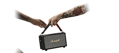 Marshall Kilburn Portable Bluetooth Speaker - Black 04091189