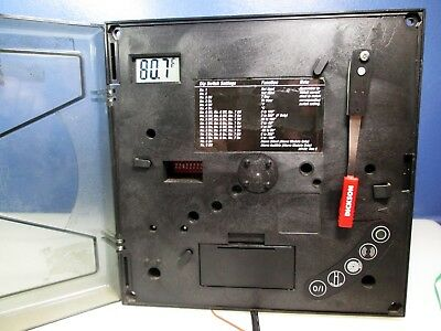 """DICKSON KT602 6"""" K THERMOCOUPLE CHART RECORDER 3 front panel buttons don't work"""