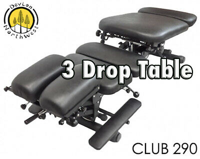 DevLon NorthWest Club 290 Chiropractic Table Therapy Table Adjustment