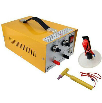 2in1 220V Pulse Sparkle Spot Welder Gold Silver Platinum Jewelry Welding Machine