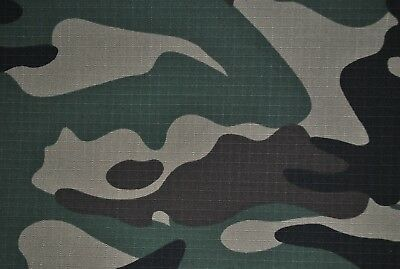 Brown 100% Cotton Drill Army Military Camouflage Fabric.