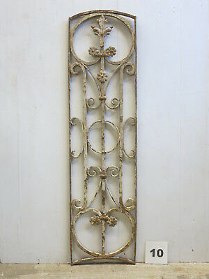Antique Egyptian Architectural Wrought Iron Panel Grate (E-10)