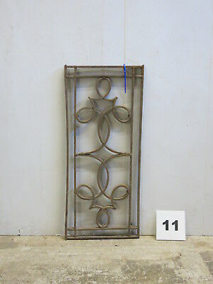 Antique Egyptian Architectural Wrought Iron Panel Grate (E-11)