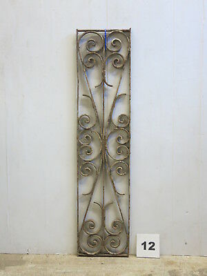 Antique Egyptian Architectural Wrought Iron Panel Grate (E-12)