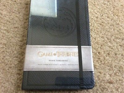 Insight Journal: Game of Thrones House Targaryen Hardcover new/sealed