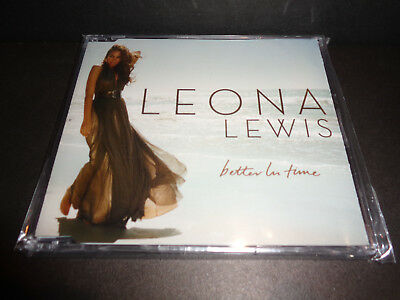 BETTER IN TIME by LEONA LEWIS-Rare Collectible Single CD Mixes-You Bring Me Down