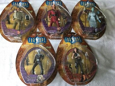 Toy Vault Farscape - Series 1 Figures - Complete Set of 5 -  NIB MOC NEW! LE
