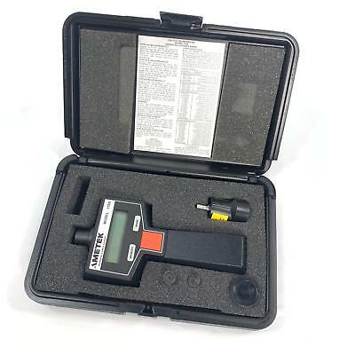 Ametek 1726 Digital Tachometer w/ Case and Accessories - Free Priority Shipping