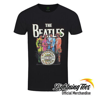 Official The Beatles Sgt. Pepper's Lonely Hearts Club Band T-Shirt