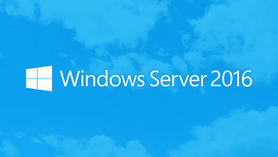 Windows Server 2016 Standard 64-bit License - Multilanguage
