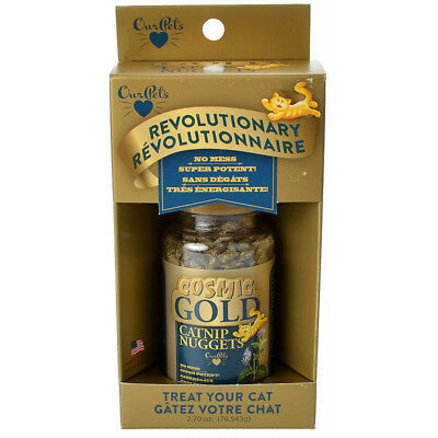 Our Pets Cosmic Gold Catnip Nuggets Cat Treat 3oz