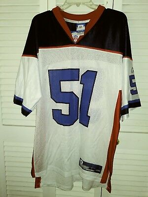 BUFFALO BILLS NFL Posluszny Replica Sewn Football Jersey White  51 ... 1e196b825