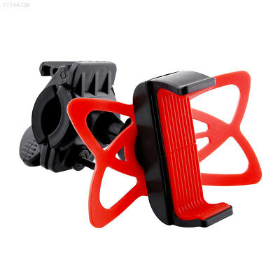 6F79 Handlebar Mount Holder 360°Rotating For Car Cell Phone Motorcycle Bicycle