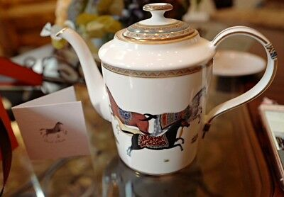 Hermes cheval d'orient coffee and teapot