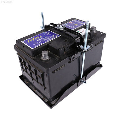 0A38 Battery Holder Storage Rack Metal Stabilizer Stand Automobile Universal