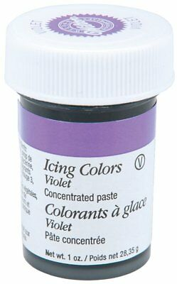 Wilton Violet Food Coloring Concentrated Paste 1 Oz Icing/Cakes/Caramels 610-604