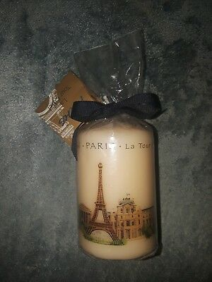 Miniature work of art. Souvenir candle from Eiffel Tower  ,France .