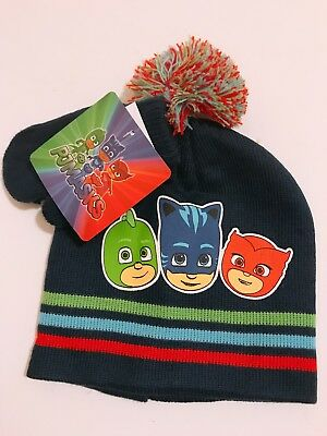 57115aeecc41e PJ Masks Characters Kids Toddler Boys 2 Piece Beanie Hat Gloves Winter Gift  Set