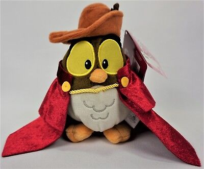 "Disney Store Animators' Collection Owl 6"" Plush Sleeping Beauty New with Tag"
