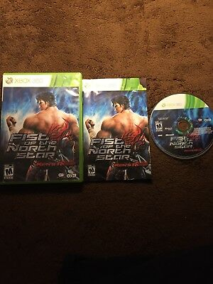 Fist of the North Star: Ken's Rage  (Xbox 360, 2010) Complete