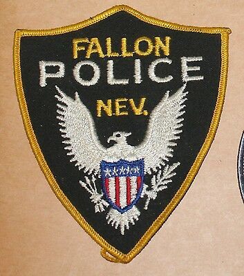 FALLON POLICE Nevada NV PD Nev Old Style patch
