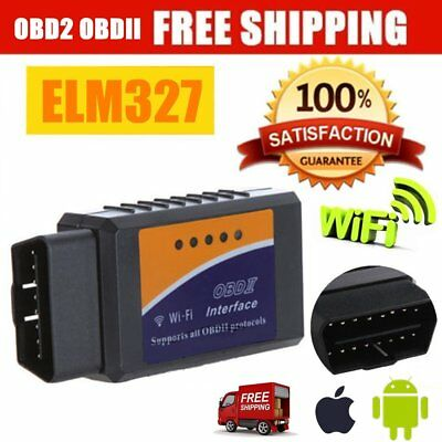 2018 ELM327 WIFI OBD2 OBDII Car Diagnostic Scanner Scan Tool for iOS Android PT