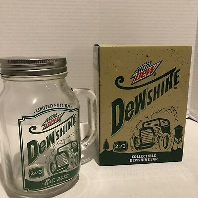 Mountain Dew Collectible Dewshine Jar 2 Of 3 Limited Edition Circle K