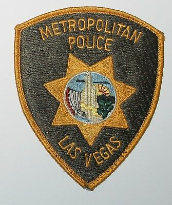 LVMPD LAS VEGAS METROPOLITAN POLICE DEPT Nevada NV Used Worn patch #2