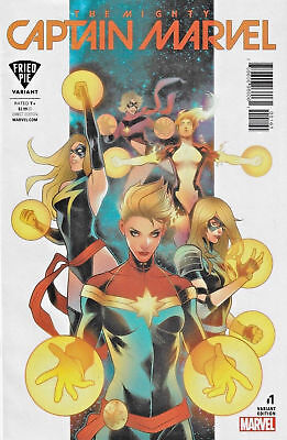 Mighty Captain Marvel #1 Fried Pie Variant Elizabeth Torque Sealed Movie Soon