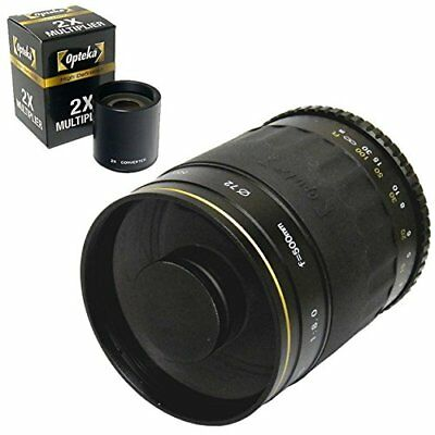 Opteka 500 Mm/1000 Mm High Definition Mirror Telephoto Lens For Pentax