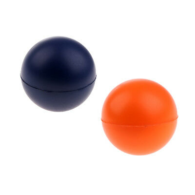 2Pcs 50mm Racquetball Squash Tennis Training Ball Warm-up Aids Exercise Tool