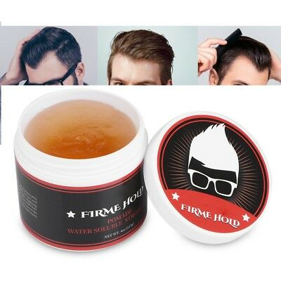 113g Strong Pomade Longlasting Hairstyles Gel Hair Model Wax Ointment