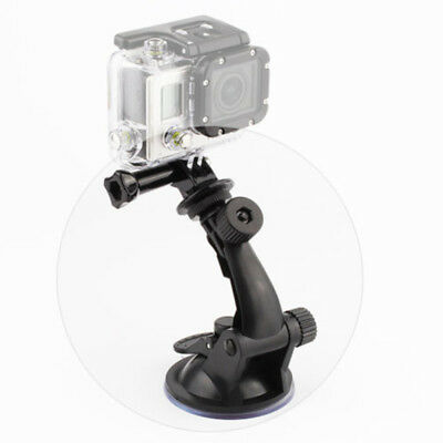 Car Windshield Vacuum Suction Cup Mount + Tripod Adapter For GoPro Hero 5 4 3+