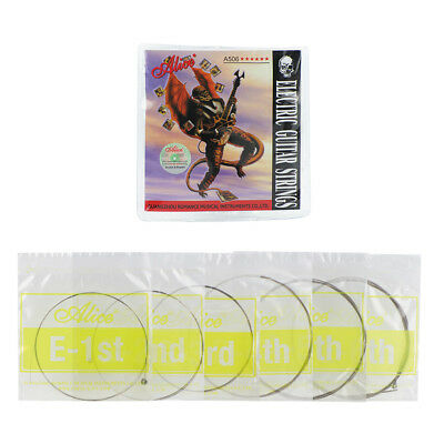 Set Alice A506-SL Electric Guitar Strings 6 Strings .009-.042 Steel Nickel Alloy