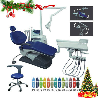 UK Dental Unit Chair Computer Controlled Hard Leather Integral TJ2688-A1-1 FDA