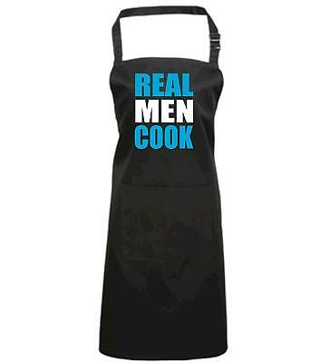 REAL MEN COOK' Cooking/Baking/Barbecue apron