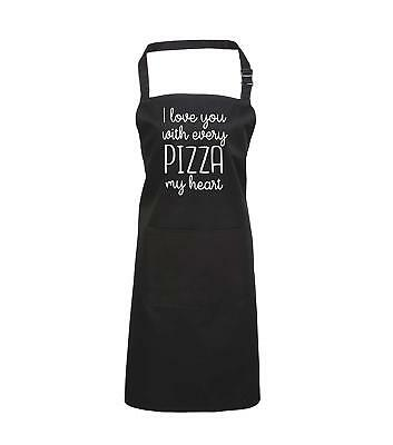 Edward Sinclair Love You With Every Pizza My Heart <3 Valentines Gift, Cooking A