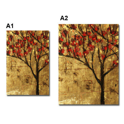 Abstract Tree Art Wall Painting Canvas Unframed Print Hanging Picture Home Decor