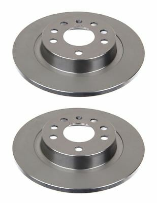 Solid Rear Brake Disc For Citroen BX Break/Fiat, pack of 2 Left & Right Side