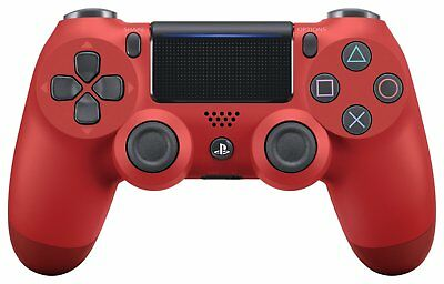 SONY Wireless controller (DUALSHOCK 4) Magma · Red (CUH - ZCT 2 J 11) From Japan