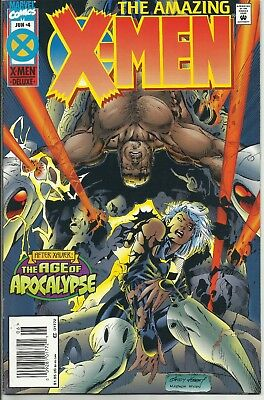 Amazing X-Men #4 (Jun 1995, Marvel) AGE OF APOCALYPSE