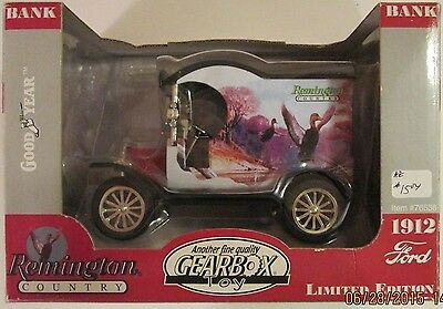 1999 Gearbox #76538 Remington Duck Ford Model T diecast metal bank at cost