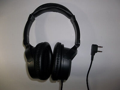 Swiss International Airlines Headphones - Two Prong