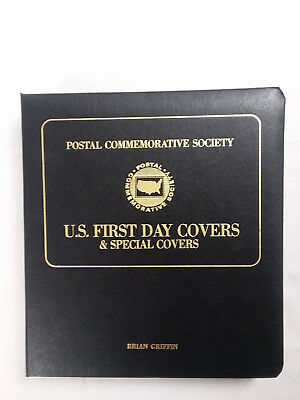 Postal Commemorative Society Us Fdc Collection In Album, All W/cachet