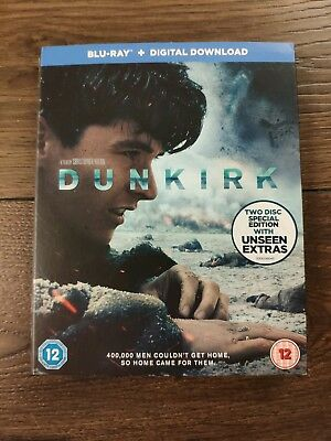 Sale ONLY Slip Cover for movie 'Dunkirk' 2017 no blu ray Disc & Case