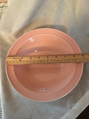 "Luray Pastels 9"" Pink Serving Bowl Taylor Smith & Taylor (TS&T)"